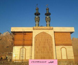 ساخت گنبد د رمسجد سپاه